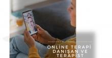 Online Terapi Hakkında Bilinmesi Gerekenler. Danışan ve Terapist, Klinik Psikolog, Psikiyatri Arasında Uzaktan Terapi.